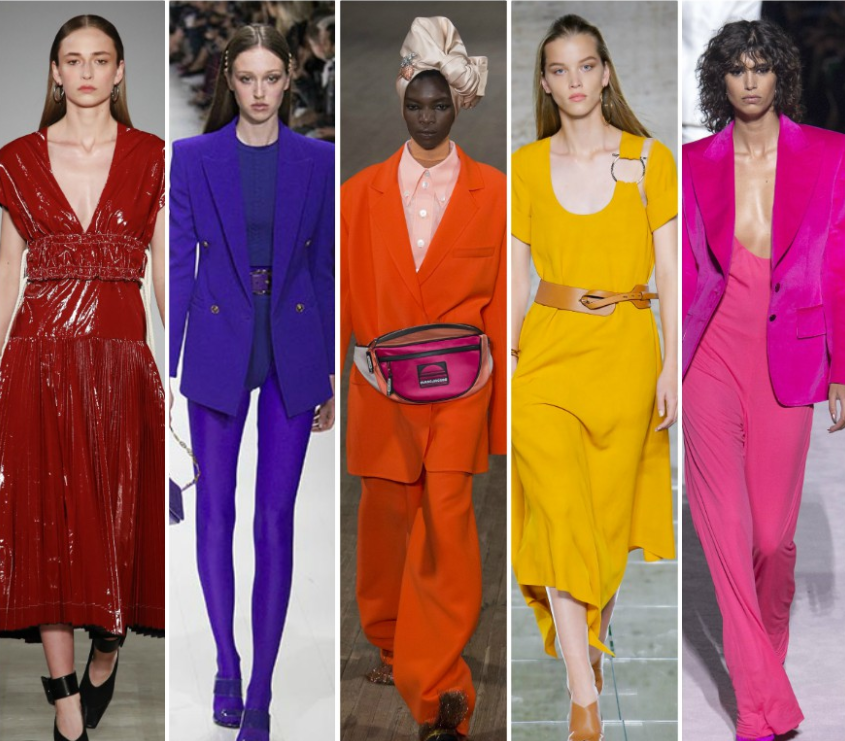 Color trends of Spring-Winter 2018