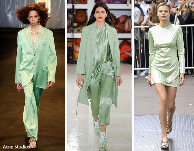 Light Green Color trends 2018