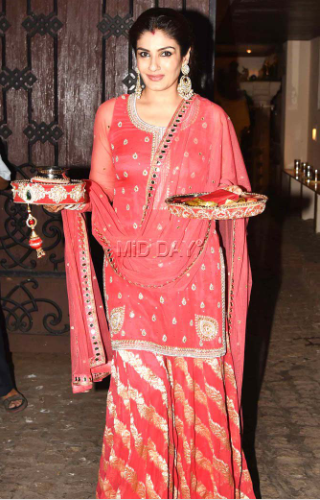 Bollywood Inspired Karwa Chauth Outfit
