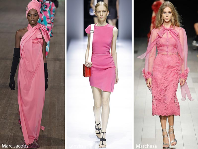 Rapture Rose fashion Color in trends 2018