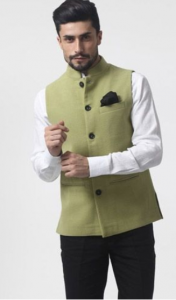 shirt with bandhgala - traditional clothes for men