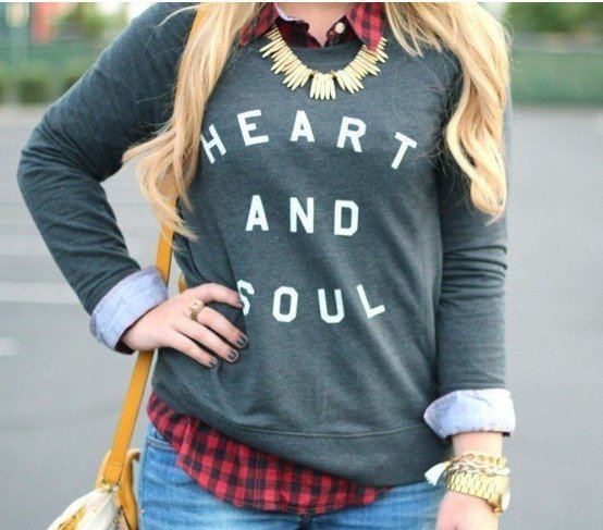 T-shirts to wear in winter