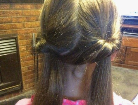 Topsy Tail Twisted Pigtails